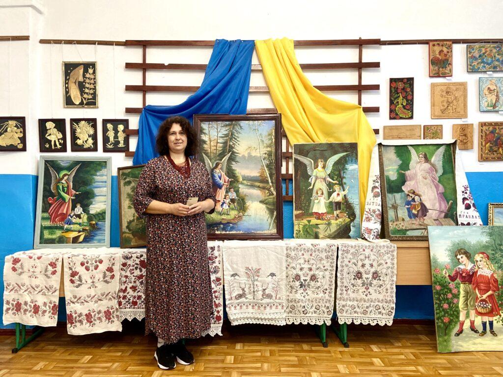 Мотиви німецьких листівок в українській народній картині